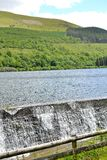 Talybont-on-usk water reservoir Stock Photography