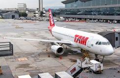 TAM Airbus A320 Photo libre de droits
