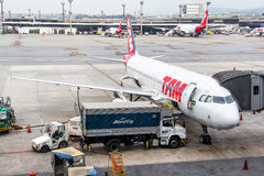 TAM Airbus A320 Stock Photography