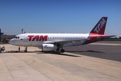 TAM Airlines Royalty Free Stock Images