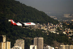 TAM airlines, Rio de Janeiro, Brazil Royalty Free Stock Photography