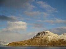 Tam był gruntowy w Antarctica Obraz Royalty Free