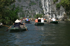 Tam coc Royalty Free Stock Images