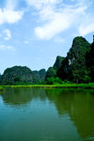 Tam Coc Bich Dong Stock Photography