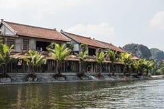 Tam Coc Boatride Photo stock