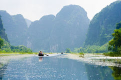 Tam Coc Caves, Vietnam Royalty Free Stock Image