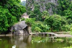 Tam Coc Natioanl Park Arkivbild