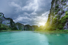 Tam coc national park Royalty Free Stock Images