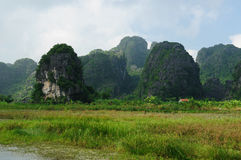 Tam Coc National Park Stock Image
