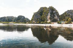 Tam Coc National Park, Ninh Binh, Vietnam lizenzfreie stockbilder