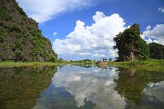 Tam coc national park. Vietnam Royalty Free Stock Photography