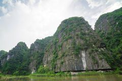 Tam Coc, Ninh Binh, Vietnam - 14 de septiembre de 2014 Fotografía de archivo libre de regalías