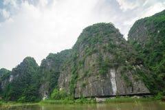 Tam Coc, Ninh Binh, Vietnam - 14 septembre 2014 Photographie stock libre de droits