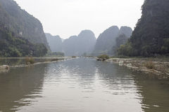 Tam Coc, tourist destination near Ninh Binh Stock Images