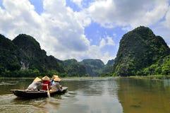 Tam Coc, Vietnam Photos stock