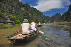 Tam Coc, Vietnam Stock Photos