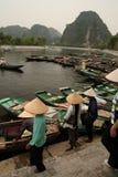 Tam Coc Vietnam Stock Image
