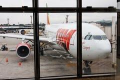 tam de guarulhos d'aéroport d'aéronefs Photos libres de droits
