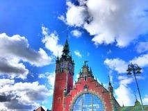 Tam jest niektóre chmura w niebie obrazy royalty free