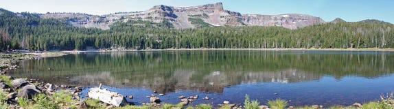 Tam McArthur Rim from Three Creek Lake Stock Photo