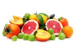 tam owocowy formata set Zdjęcie Stock