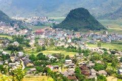 Tam Son-Stadt, Quan Ba, Hà Giang, Vietnam Lizenzfreie Stockfotografie