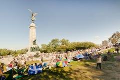 Tam-Tams i Montreal Arkivfoton