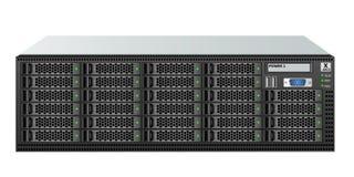 tamaño 3u del servidor de la Portador-clase con veintiocho 2 discos duros 5-inch para montar en un estante de 19 pulgadas libre illustration