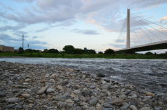 Tama-Fluss Lizenzfreies Stockbild