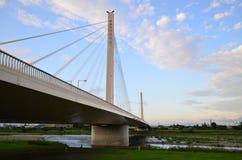 Tama-Flussbrücke Lizenzfreies Stockfoto