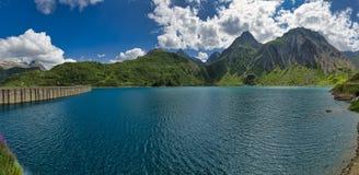 Tama i jezioro Morasco, Val Formazza Fotografia Royalty Free