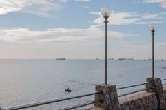 Tama i morze Obraz Stock