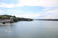 Tama lake Royalty Free Stock Image