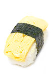 Tamago Nigiri. Stock Photo