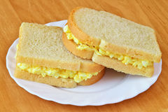 Tamago-Sando Stock Photo