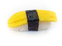 Tamago sushi Royaltyfri Fotografi