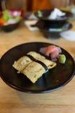 Tamago (Sweet Egg) Sushi Royalty Free Stock Photos