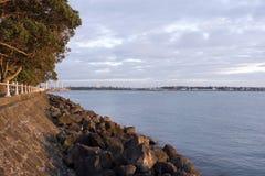 tamaki морской дамбы Стоковая Фотография RF