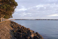 Tamaki Seawall Royalty Free Stock Photography