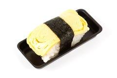 Tamako egg sushi Stock Image