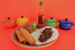 Tamale Plate Stock Photos