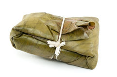 Tamale, traditional food from Latin America Stock Images