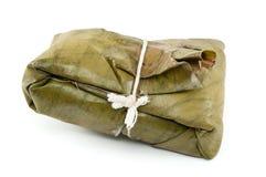 Tamale, traditioneel voedsel van Latijns Amerika Stock Afbeeldingen