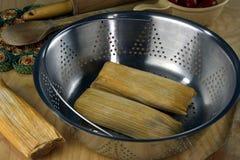 tamales Fotografía de archivo libre de regalías