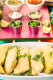 Tamales stock photo