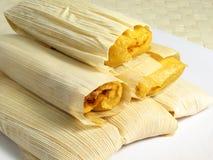 Tamales quentes Fotografia de Stock
