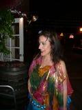 Tamalyn Dallal - исполнительница танца живота Стоковые Фотографии RF