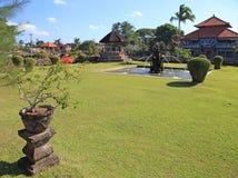 Taman Ayu Mengwi kunglig tempel 001 Arkivbilder