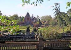 Taman Ayu tempel - Mengwi kunglig tempel 003 Arkivfoto