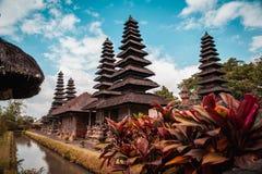 Taman Ayun świątynia, Buddyjski Bali Indonezja zdjęcia royalty free